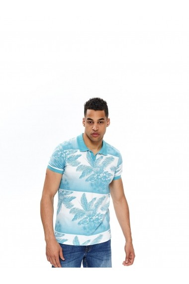 Tricou Polo Top Secret TOP-SKP0488NI Bleu