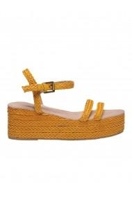 Sandale plate Top Secret TOP-SBU0759ZO Galben
