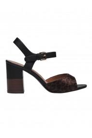 Sandale cu toc Top Secret TOP-SBU0777CA Animal Print