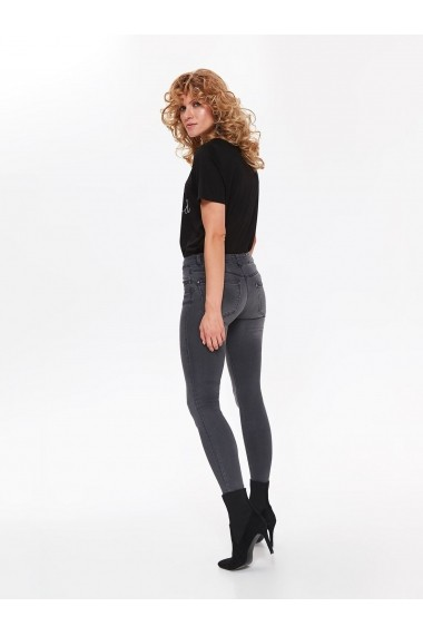 Jeansi Skinny Top Secret TOP-SSP3024SZ Gri