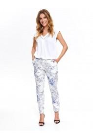 Pantaloni drepti Top Secret TOP-SSP3291BI Florali