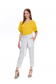 Pantaloni drepti Top Secret TOP-SSP3283BI Alb