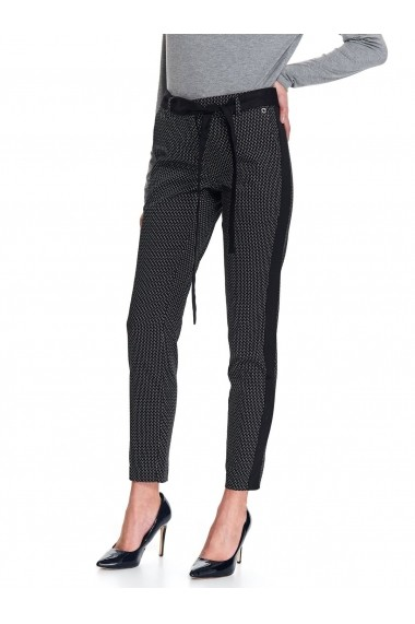 Pantaloni drepti Top Secret TOP-SSP3474CA Negri