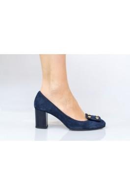 Pantofi cu toc Thea Visconti cu ornament cu butoni