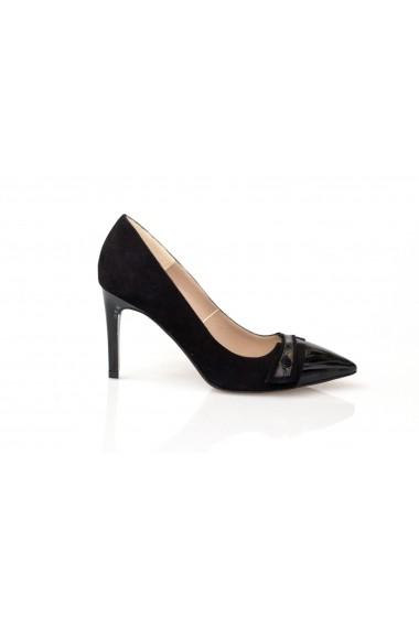 Pantofi cu toc Thea Visconti stiletto negri