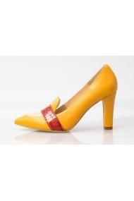 Pantofi cu toc Thea Visconti 1253/16 Galbeni