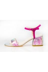 Sandale cu toc Thea Visconti S-239--18-947 fucsia