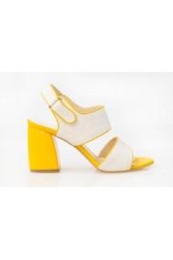 Sandale cu toc Thea Visconti S-229-18-311 bej