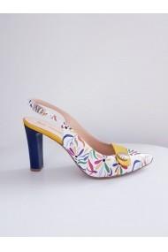 Sandale cu toc Thea Visconti 613/19 Print