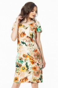 Rochie scurta Sense Pretty Woman Floral