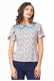 Bluza Sense jersey Caroline roz+bleu