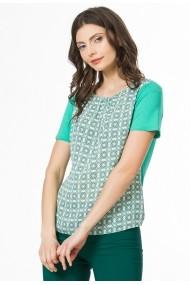 Bluza Sense Imprimata Mignon verde