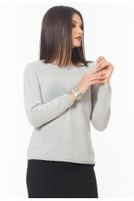 Pulover Sense lana Softness gri