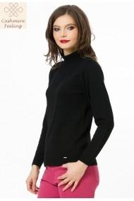 Maleta Sense tricotata Britt negru