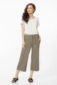 Pantaloni largi Sense Couture maro