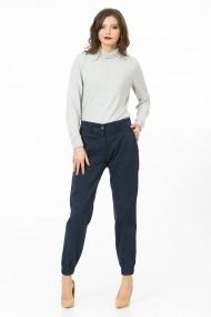 Pantaloni largi Sense XC195 Bonita bleumarin.