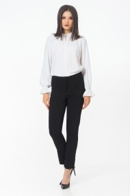 Pantaloni drepti Sense CA4894 Alisia negru