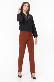 Pantaloni drepti Sense CA4950 Fanny caramiziu