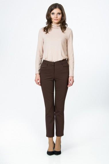 Pantaloni drepti Sense CA4902 Morning maro