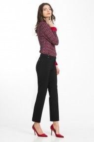 Pantaloni drepti Sense CA4961 Ramona negru
