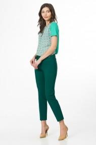 Pantaloni drepti Sense CA4961 Ramona verde