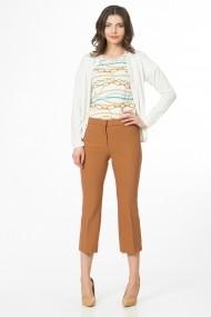 Pantaloni drepti Sense CA4999A Sophie camel