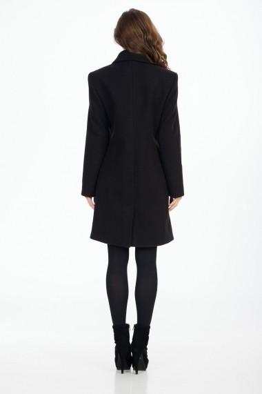 Palton Sense lana Camille negru
