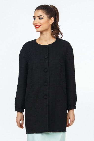 Palton Sense Brigitte negru