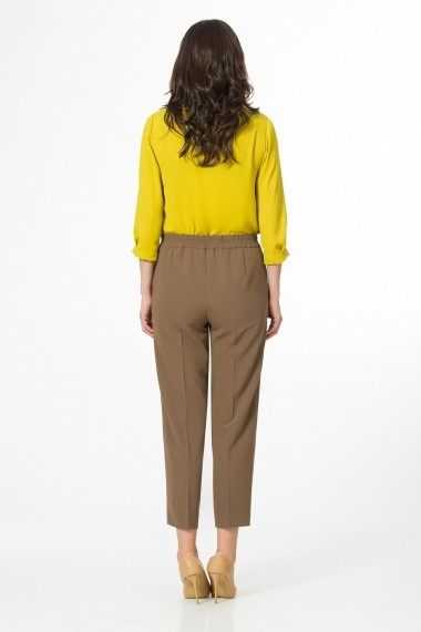 Pantaloni drepti Sense CA4966 Kimberly Kaki