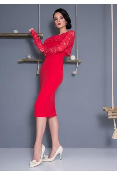 Rochie De Seara Lovelove Jadore Rosu Fashionup