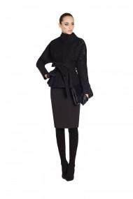 Палто Nissa nsJ8111/Negru Черен