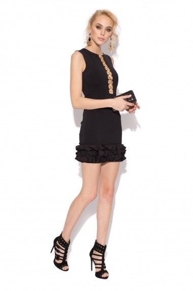 Rochie NISSA mini neagra Negru