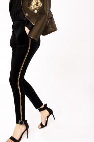 Pantaloni drepti NISSA nsP10327 Negru
