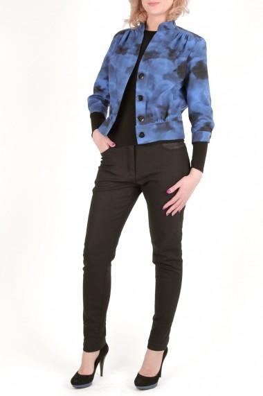 Jacheta scurta din tercot Funky Blue - Cardinale Rosa albastru