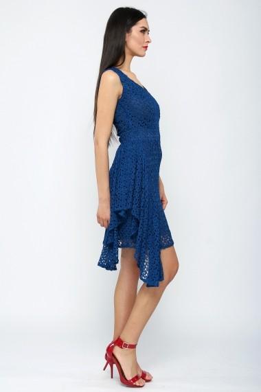 Rochie dantelata de cocktail - Tango Passion - Cardinale Rosa albastru