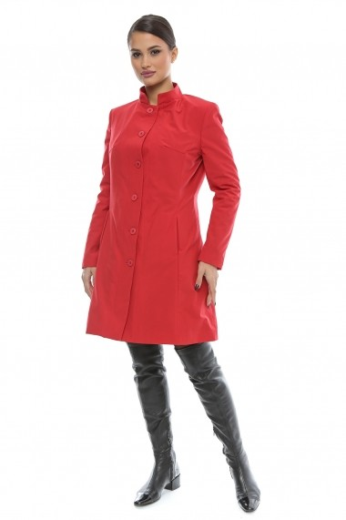 Pardesiu gros impermeabil RedHeart Season - Cardinale Rosa rosu