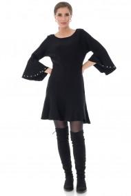 Rochie scurta Roh Boutique DR3712 neagra