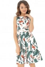 Rochie midi Roh Boutique DR3767 florala