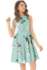 Rochie scurta Roh Boutique DR3763 Floral