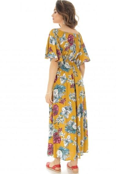 Rochie lunga Roh Boutique DR3839 Floral
