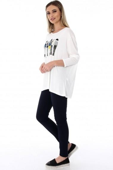 Bluza Roh Boutique BR1815 Crem