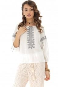 Bluza Roh Boutique BR2065 Alb