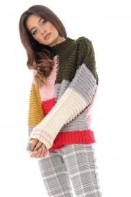 Pulover Roh Boutique BR2156 Multicolor