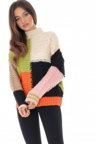 Pulover Roh Boutique BR2155 Multicolor