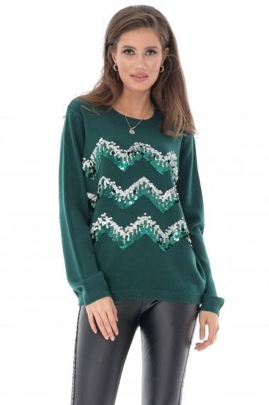 Pulover Roh Boutique BR2220 Verde