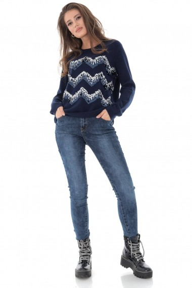 Pluover Roh Boutique BR2217 Bleumarin