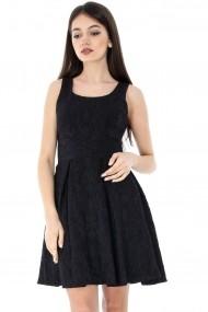 Rochie scurta Roh Boutique CLD902 Neagra