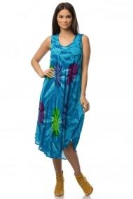 Rochie Roh Boutique lejera - DR3022 turcoaz