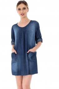 Tunica Roh Boutique ROH-7097 - DR3379 denim One Size
