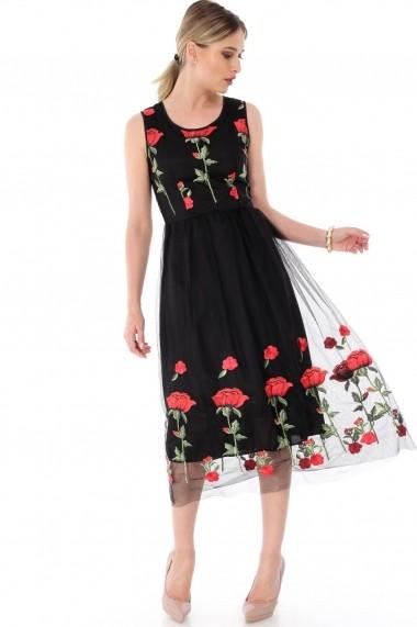 Rochie midi Roh Boutique DR3349 Floral